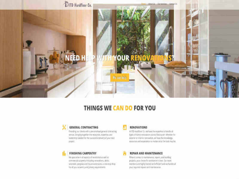 Affordable small business web designer