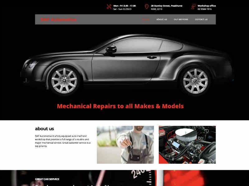 small business responsive web design